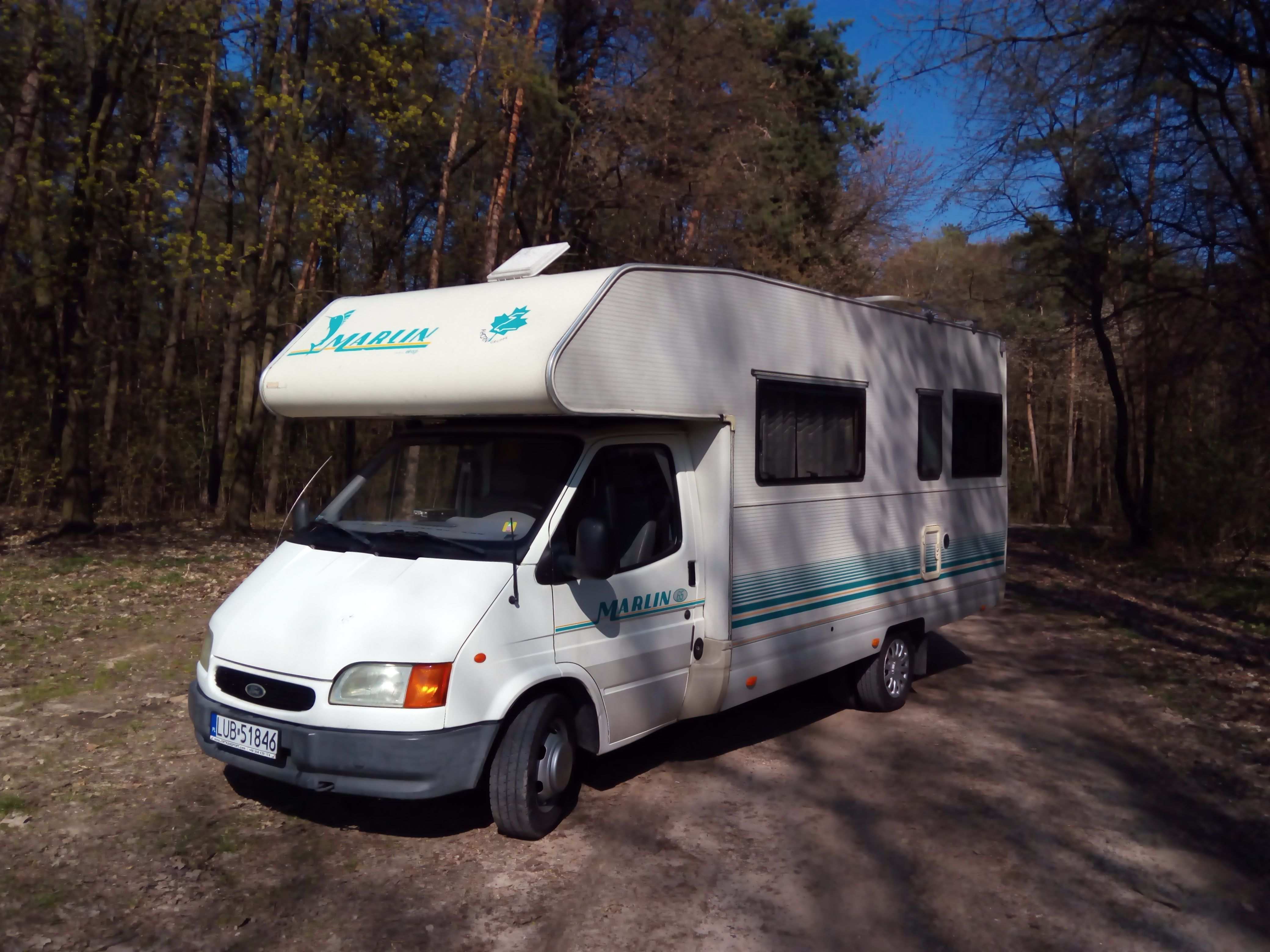 Ford Transit with solar and full equimpent