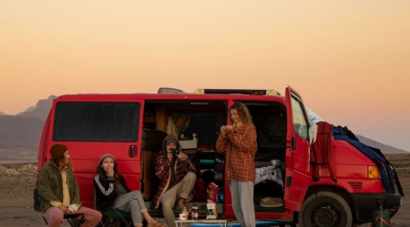 2-person camper van in Fuertaventura, Spain