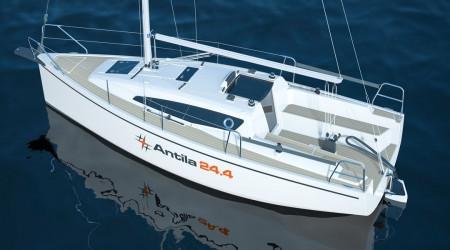 Antila 24.4 sailing yacht ozonated