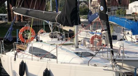 Antila 24.4 sailing yacht in Masuria