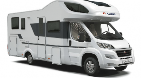 Adria Coral 670 DK manual air condition TV alcove