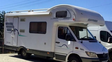 Mercedes Sprinter Hymer with alcove