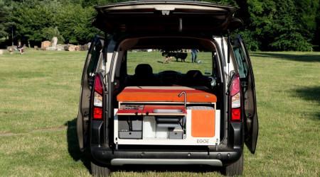 Mini campervan Rookie with EGOE box