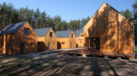 Scandinavian Aqua cottage