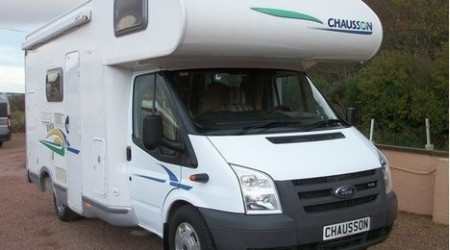 Transit Chausson F with electric windows