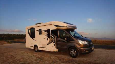 Modern Chausson Camping Car