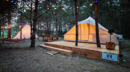 Utgart tent in Małe Dolomity