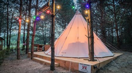 Alfheim tent in Małe Dolomity