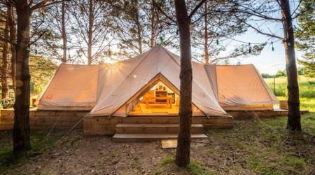 Midgard tent in Małe Dolomity