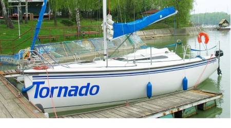 Sailboat Twister 780 7.80m