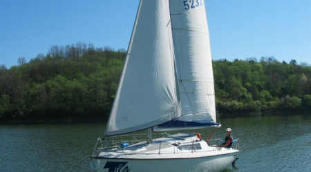 Renovated sailing yacht Focus 650 6.5