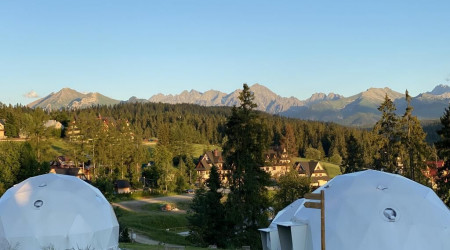 Panoramic dome tent Klapniok IV