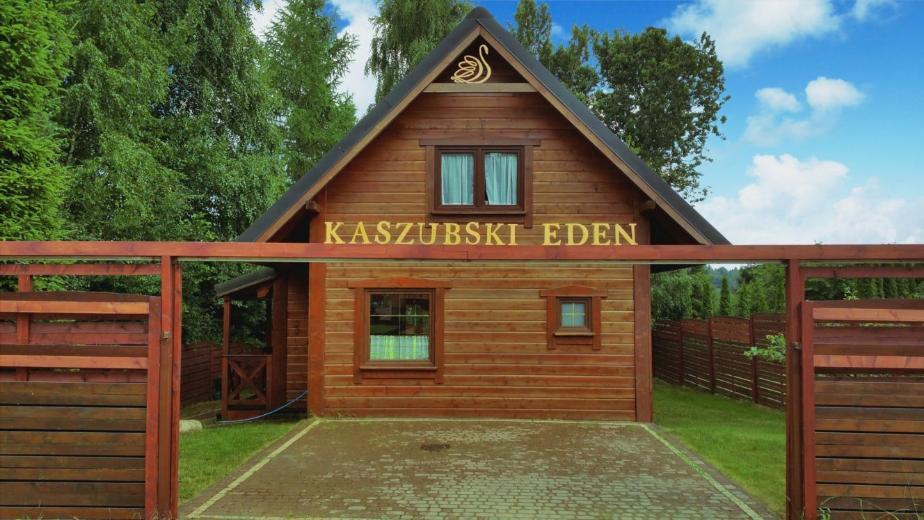 Kashubian Eden with a hot tub