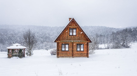 Cottage Tarnica in a hunting style