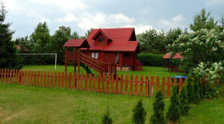 Wooden House in the Masurian Hut