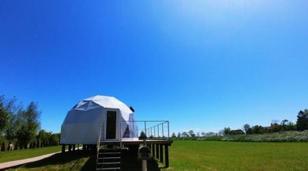 Dome No.1 in Aurora Glamp