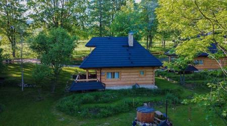 Log house No. 1 in Sudecka Settlement