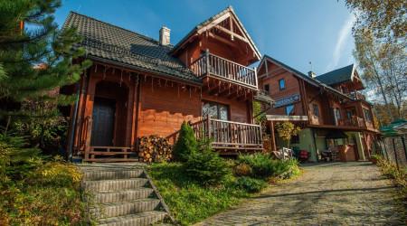 Kapitańska cottage in Pieniny