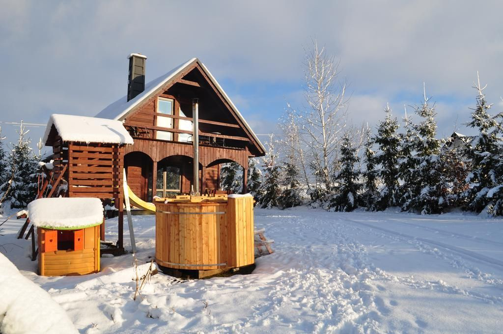 Wooden house in Siedlisko Skarlinówka