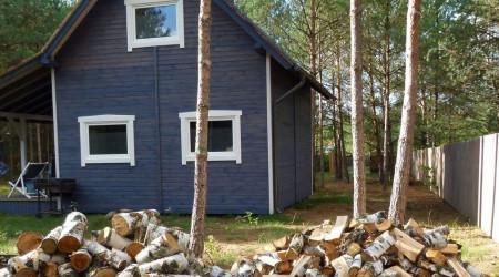 Cottage Qubalonek I with a tub and a sauna