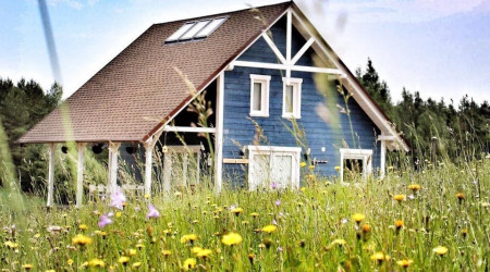 House Czapla Biała in Kashubia