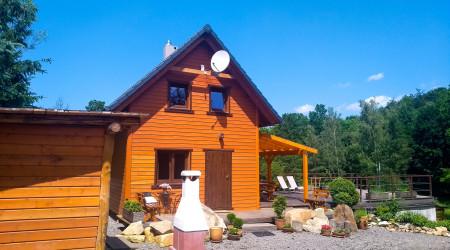 Wierzbowy Jar wooden house with sauna in Karkonosze