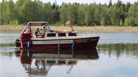 Houseboat Weekend 820 Niemen