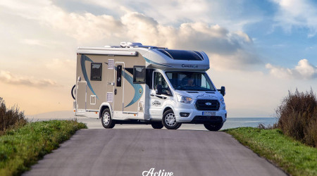Chausson Titanium 720 / All-year / Extra Winter Package / 2020/ 170 KM / Automat / 5 people