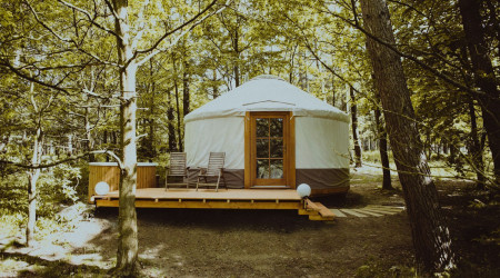 4rest Camp Yurt with tub 3