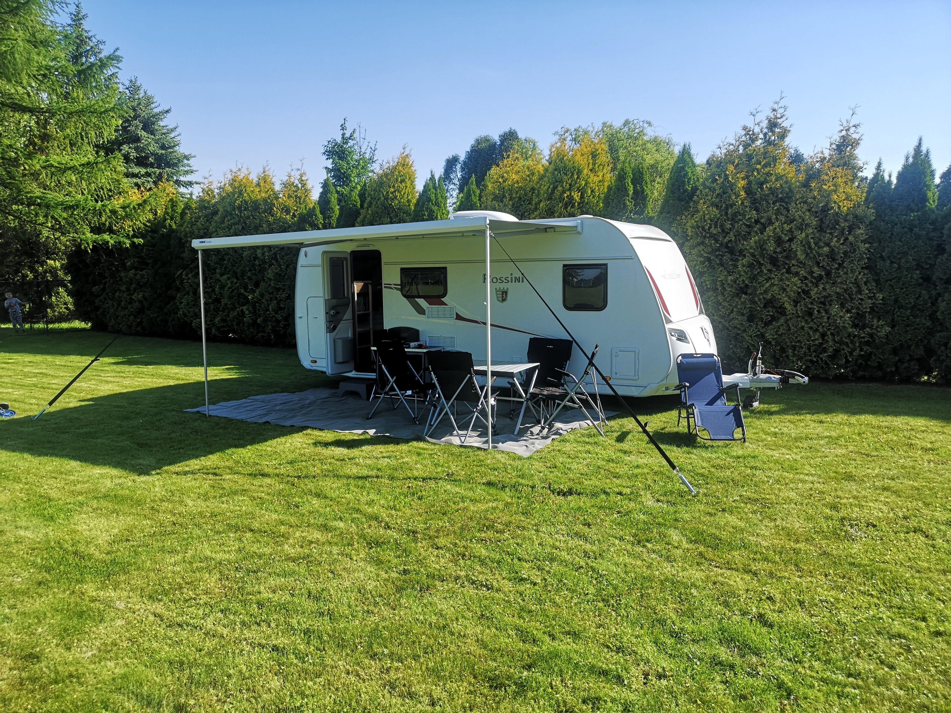 Camper in Istria, Croatia