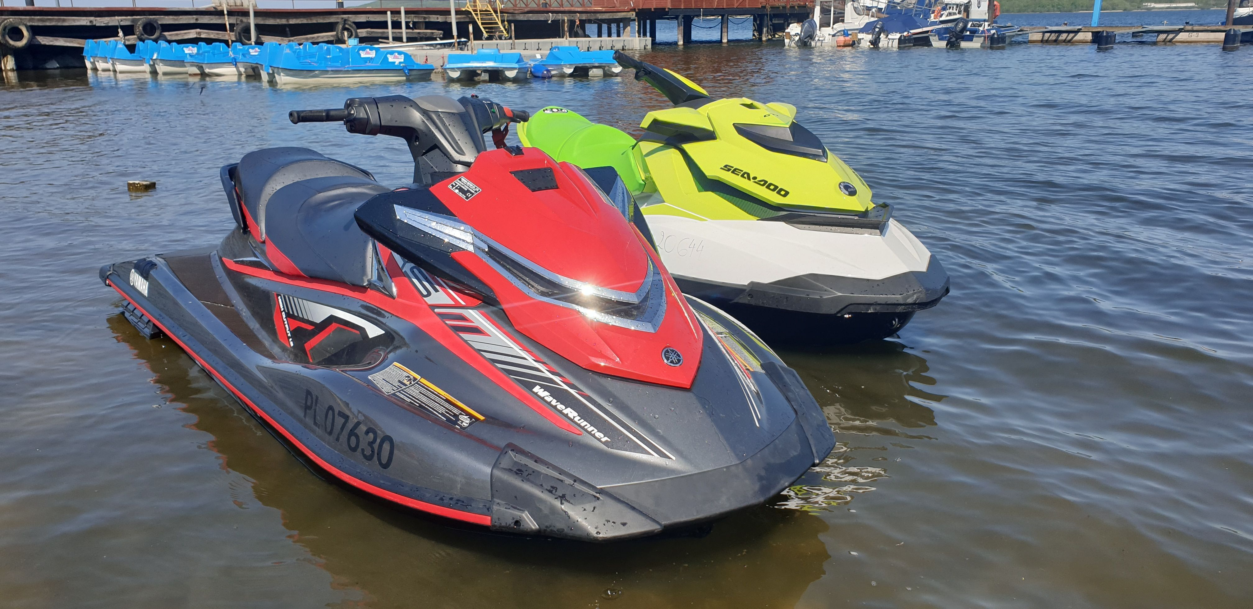 Skuter Wodny Yamaha VXS 180 KM Wynajem. Dojazd, wodowanie i kapoki GRATIS